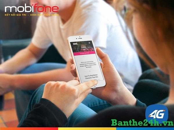 Hướng dẫn chi tiết cách kích hoạt sim 4G mobifone nhanh