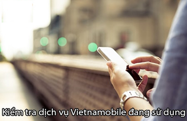 Tổng hợp cách tra cứu các dịch vụ Vietnamobile đang dùng