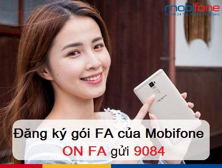 Ưu đãi lướt Facebook khi đăng ký gói cước FA Mobifone