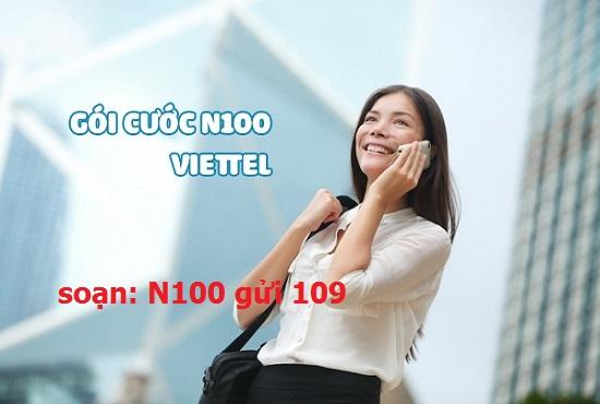 Đăng ký gói cước N100 Viettel nhận ưu đãi khủng