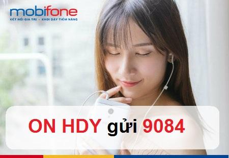 Mách bạn cách đăng ký nhanh nhất gói cước 4GHDY Mobifone