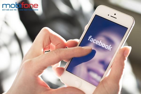 Lướt Facebook thả ga cùng gói cước FB30 của Mobifone