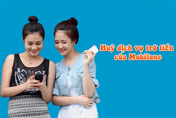 Hướng dẫn hủy dịch vụ trừ tiền của Mobifone qua SMS đơn giản
