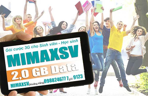 Hướng dẫn đăng ký gói MimaxSV sinh viên Viettel chỉ 50k/tháng