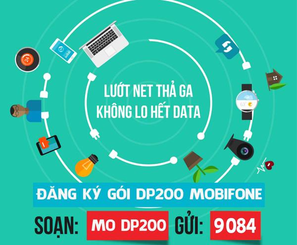 Ưu đãi khủng cùng gói cước DP200 Mobifone