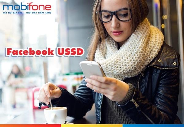 Miễn phí data khi truy cập FB với dịch vụ Facebook USSD Mobifone
