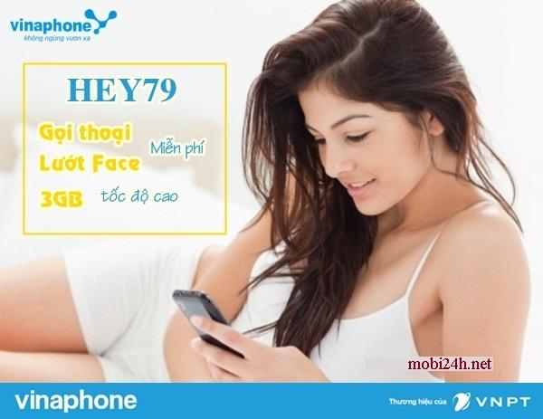 Những ưu đãi gói Hey79 của Vinaphone bạn có biết?