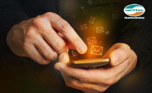 Nhận ưu đãi cực hấp dẫn khi đăng ký gói cước SMS50 của Viettel