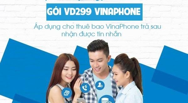 Tặng ngay 5GB và 400 phút gọi miễn phí với gói cước VD299 Vinaphone