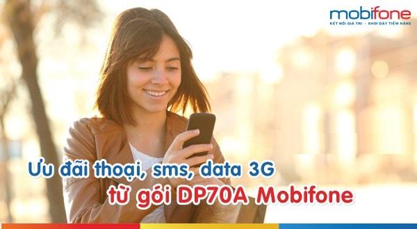 Đăng kí nhanh gói DP70A Mobifone chỉ với 70.000đ