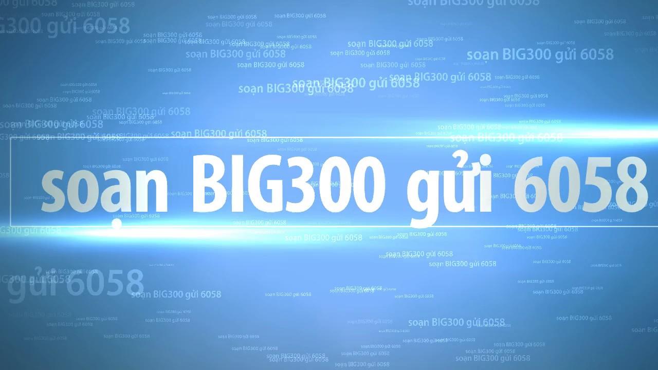 Đồng hành cùng gói cước BIG300 Vinaphone nhận ngay 18GB