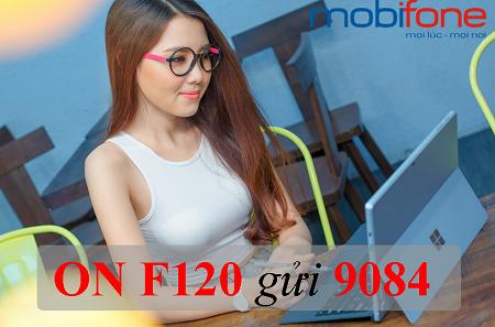 Cú pháp đăng ký gói cước F120 Mobifone đơn giản nhất