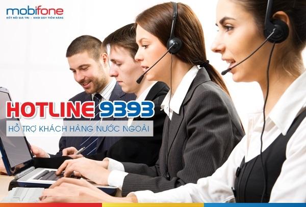 Số tổng đài mobifone chăm sóc khách hàng nước ngoài