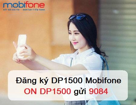 Nhận bão siêu ưu đãi khi đăng ký gói cước DP1500 Mobifone