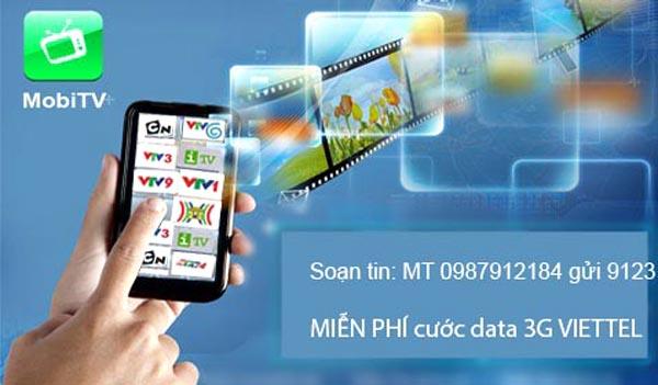 Đăng ký dịch vụ Mobile TV Viettel – Xem tivi mọi lúc mọi nơi