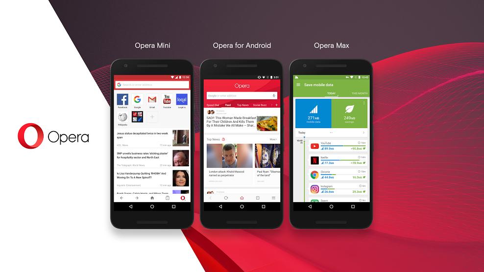 Sở hữu gói cước Opera Mini Vinaphone nhanh nhất