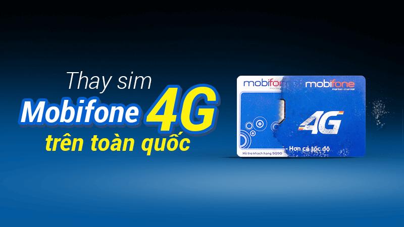 Thông tin về mức giá đổi sim 4G mobifone hiện nay