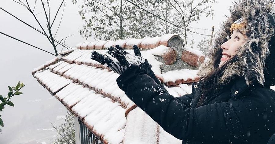 Nơi thiên đường tuyết trắng trong Lễ hội mùa đông SaPa 2017