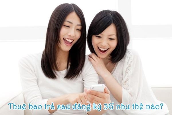 Hướng dẫn tính cước đăng kí 3G mobifone cho thuê bao trả sau