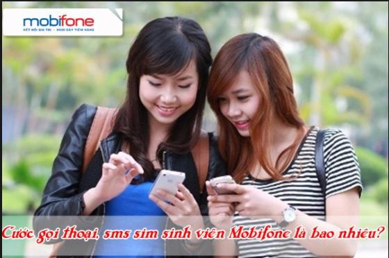 Cước phí gọi trên sim sinh viên mobifone là bao nhiêu?