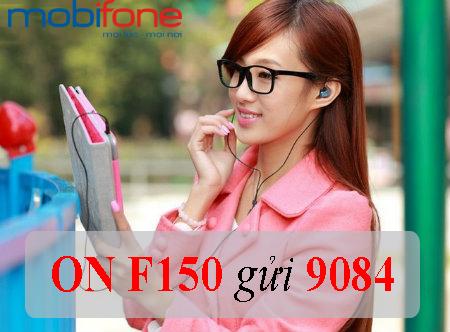 Chi tiết cách đăng ký nhanh nhất gói cước F150 của Mobifone