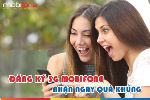 Thông tin những gói 3G mobifone khuyến mãi năm 2017