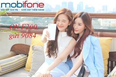 Lợi ích cho khách hàng khi đăng ký gói cước F200 Mobifone