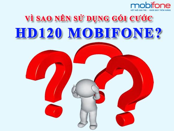 Hướng dẫn cách đăng ký gói cước 4G HD120 của Mobifone