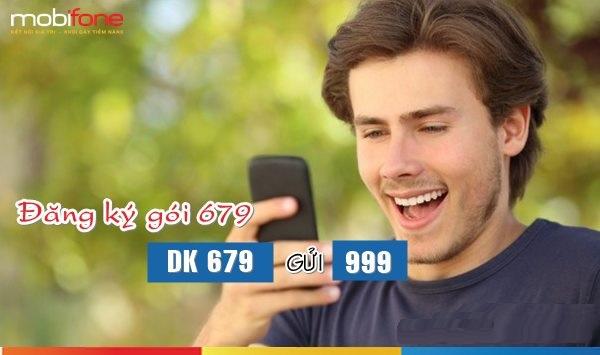 Đăng kí nhanh gói 679 Mobifone ưu đãi nhất hiện nay