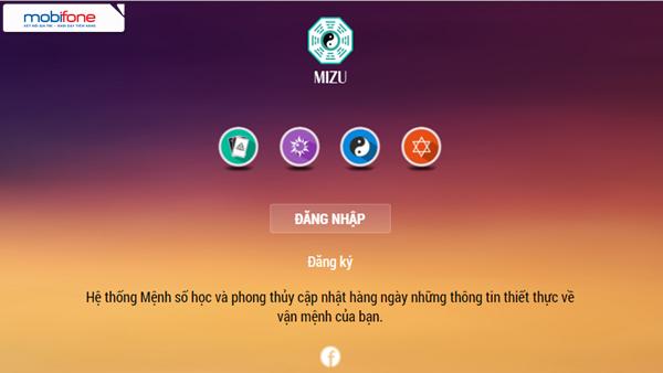 Đăng ký dịch vụ Phong thủy Mizu Mobifone thú vị cho thuê bao