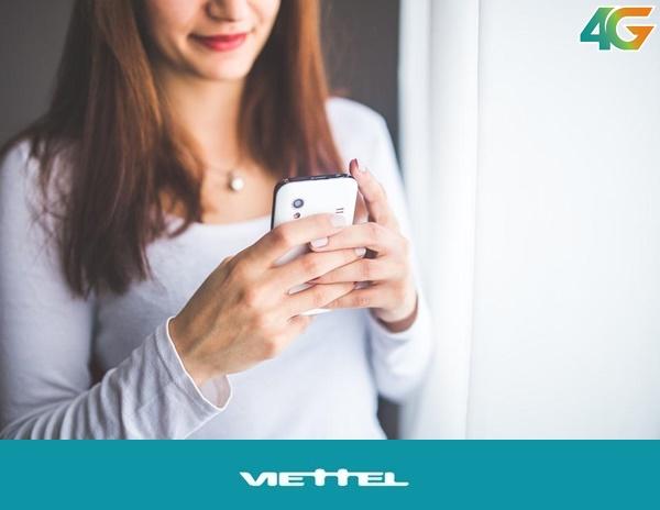 Giảm cước phí truy cập mạng khi đăng ký gói cước 4G0 của Viettel