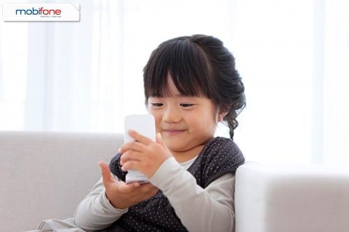 Đăng ký dịch vụ mTokid Mobifone dạy con thông minh hơn