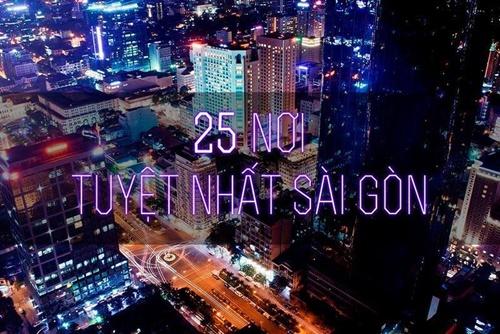Điểm du lịch Sài Gòn hấp dẫn không thể bỏ qua