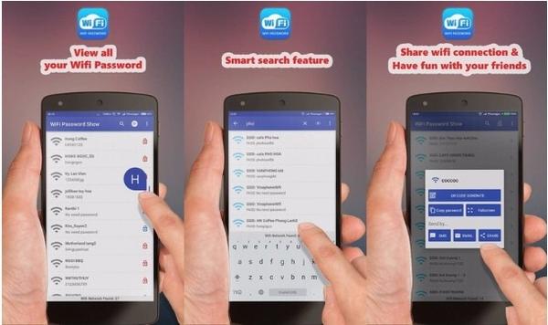 Hướng dẫn tìm mật khẩu Wifi cho thiết bị Android và iOS cực dễ