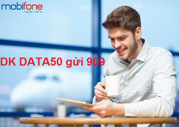 Cách đăng kí ngay gói 3G data50 mobifone ưu đãi nhất