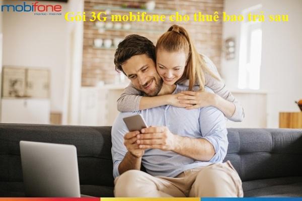Hướng dẫn nhanh cách đăng kí gói 3G mobifone cho thuê bao trả sau