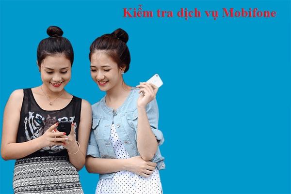 Cách kiểm tra các dịch vụ Mobifone đang dùng