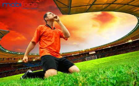 Fan bóng đá nhanh tay đăng ký dịch vụ mBongda Mobifone