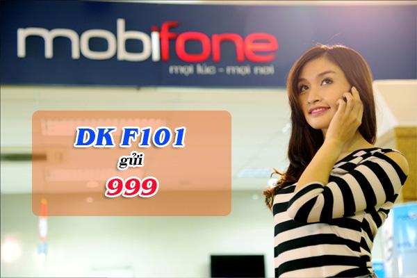 Ưu đãi khủng về gọi thoại với gói cước F101 Mobifone