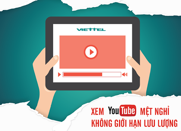 Ưu đãi lớn khi đăng ký gói cước Youtube 1 ngày Viettel