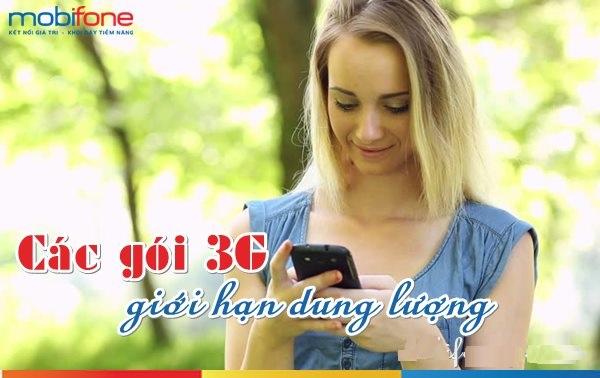Học cách đăng kí gói 3G mobifone giới hạn dung lượng mới nhất