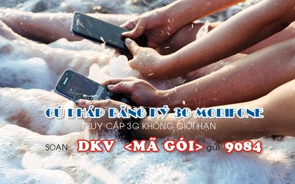 Hướng dẫn cách đăng kí 3G mobifone mới nhất 2017