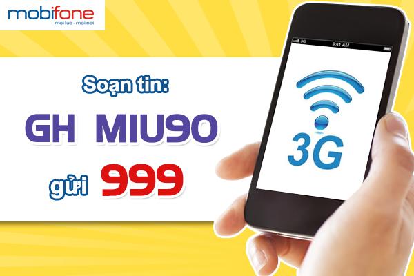 Cách gia hạn gói MIU90 mobifone cho các thiết bị di động