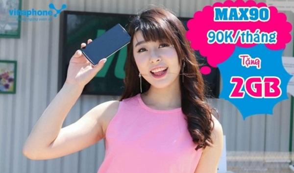 Gói cước MAX90 Vinaphone có gì hấp dẫn?