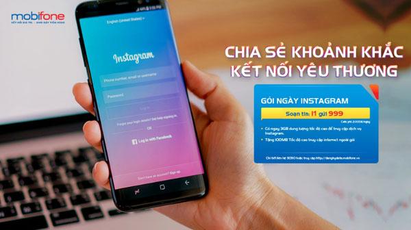 Hướng dẫn đăng ký gói Instagram Mobifone thỏa sức lướt Ins