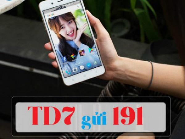 Nhận 5GB data/tuần khi sử dụng gói cước TD7 Viettel