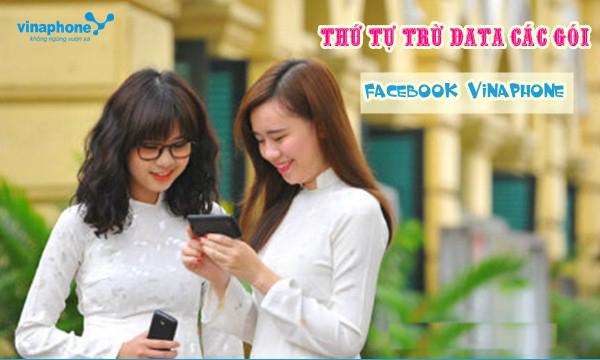 Tìm hiểu quy định trừ data của gói cước Facebook Vinaphone