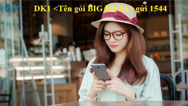 Hướng dẫn đăng kí gói BIG DATA vinaphone nhận ngay ưu đãi lớn