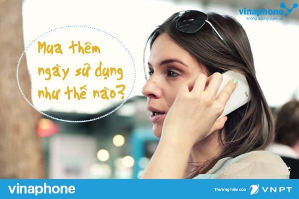 Hướng dẫn mua thêm ngày sử dụng cho sim vinaphone