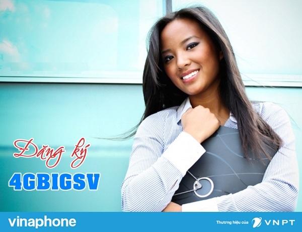 Đăng ký nhanh gói 4G BIGSV Vinaphone nhận ưu đãi lớn